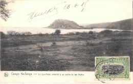 CONGO BELGE Congo Ka-Tanga, Le Lou-Alaba Oriental à Sa Sortie Du Lac Moëro,  Excellent état - Congo Belge - Autres