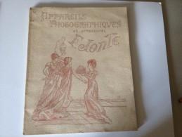 CATALOGUE, F.JONTE, APPAREILS PHOTOGRAPHIQUES ET ACCESSOIRES ,1907 - Werbung