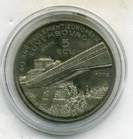 Medaille Comemo De 5 Ecu ,40 Ans Du Parlement Européens - Royal / Of Nobility