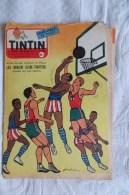 JOURNAL DE TINTIN 372 1955 HARLEM GLOBE TROTTERS - Tintin