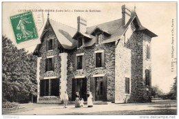 Cpa     44  LA CHAPELLE SUR ERDRE  Chateau De  Kerbihan - Otros Municipios