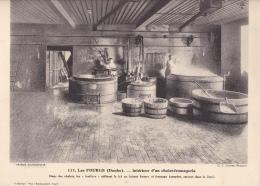 LES FOURGS -intérieur D'un Chalet-fromagerie - Autres Communes