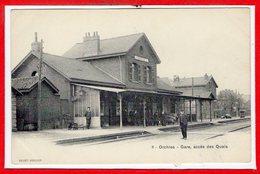 59 - ORCHIES -- Gare, Accés Des Quais - Orchies