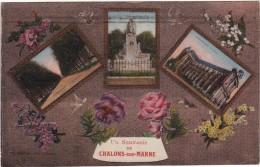 CPA-51-310801-SOUVENIR DE CHALONS-SUR-MARNE-ECRITE- - Châlons-sur-Marne