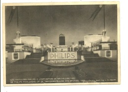 Bruxelles Les Pavillons Philips 1935 Expo - Universal Exhibitions