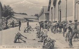CPA - Grenoble - Quartier Des Batteries Alpines - Grenoble