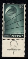 Israël.- Jewish Mobilization 2nd World War  120 (Pr) - Ongebruikt (met Tabs)