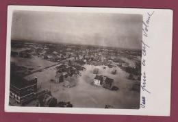 80 - 280816 - CARTE PHOTO - FORT MAHON - Plage Villas - VUE PRISE EN CERF VOLANT - !! Exceptionnel !! - Fort Mahon