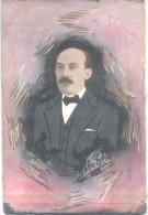 ISLA ELIA POLITICO MECENAS EMPRESARIO ESCRITO TEMPERA SOBRE CARTON CIRCA 1910 RARISIME - Pastels