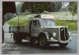Saurer S 4 C , Ca. 1956 , 125 PS , 6 Zylinder , 16 T - Transporter & LKW