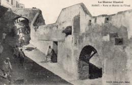 6724. CPA MAROC. RABAT. PORTE ET MONTEE DE L'OUED - Rabat