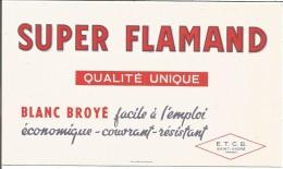 BUVARD SUPER FLAMAND BLANC BROYE à SAINT ANDRE (NORD) - Blotters