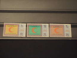 KUWAIT - 1970 CROCE ROSSA 3 VALORI - NUOVI(++) - Kuwait