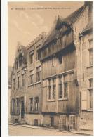 66  BRUGES. - Vieille Maison En Bois Rue De L'Equerre, Cliche F. Walschaerts, Circa 1915 - Sepia - Excellent - Brugge