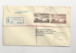 1967 Australian Antarctic Territory, Davis, Registered Letter - Australian Antarctic Territory (AAT)