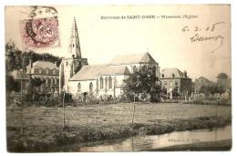 ENVIRONS  DE SAINT OMER  Cartolina  , Wizernes, L´Englise - Boulogne Sur Mer