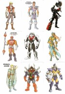 Colección De 166 Calendarios De Bolsillo Del Tema Dibujos/Muñecos/Dolls - He-Man 2 - Calendarios