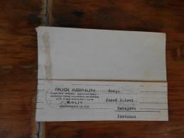 Split Rudi Abinun  Trgovina Kratke Galanterije I Platnene Robe  1938 - Croatie