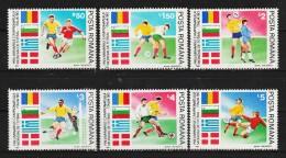 1990 - Coupe Du Monde ITALIA 90  MI No 4586/4591 Et Yv 3878/3883 MNH - Ungebraucht