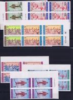 Afganistan: Mi.nr 845 - 851  1963 MNH/**/postfrisch/neuf Sans Charniere In 4-blocks. - Afghanistan