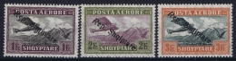 Albania : Mi Nr 148 - 150 MNH/**/postfrisch/neuf Sans Charniere  Airmail - Albanien