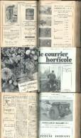 """Reliure """"courrier Horticole"""" 1952 - Jardinage"""