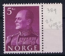 Norway Mi Nr 431 MNH/**/postfrisch/neuf Sans Charniere 1959 - Norwegen
