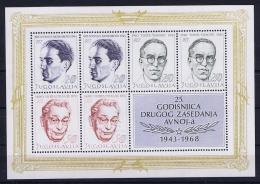 Yugoslavia Block 13 + 14  MNH/**/postfrisch/neuf Sans Charniere 1962 - Blokken & Velletjes