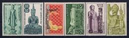 Laos: Mi Nr 54 - 59 1956 Airmail  MNH/**/postfrisch/neuf Sans Charniere - Laos
