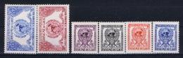Laos: Mi Nr 34 - 39 1953 Airmail  MNH/**/postfrisch/neuf Sans Charniere - Laos