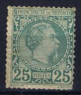 Monaco: Mi Nr 6  MH/* Falz/ Charniere   1885  Has A Very Small Tear At The Left Side - Monaco