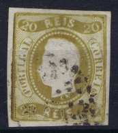Portugal: Mi Nr 19  Used 1866 - 1862-1884 : D.Luiz I