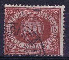 San Marino :  Mi Nr 15 Used - Oblitérés