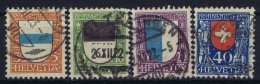 Switserland : Mi 175 - 178  Used  1922 - Pro Juventute