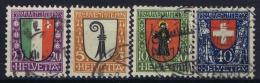 Switserland : Mi 185 - 188  Used  1922 - Pro Juventute