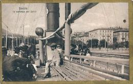 SPEZIA - IN PARTENZA PER LERICI - F/P - V:1917 - ANIMATA - La Spezia