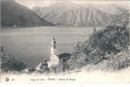 NESSO (CO) - CHIESA DI BORGO - F/P -  V: 1907 - Como