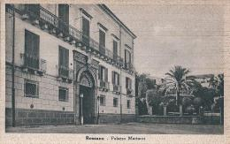 ROSSANO (CS) - PALAZZO MARTUCCI - F/P -  N/V - Cosenza
