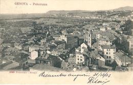 GENOVA - PANORAMA- F/P - V:1903 - I - Genova (Genoa)
