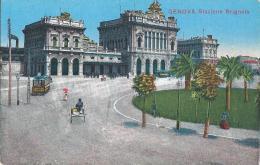 GENOVA - STAZIONE BRIGNOLE - F/P - N/V - TRAM - Genova
