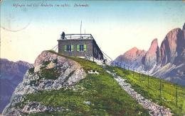 RIFUGIO COL RODELLA (TN) - C/E - F/P - V: 1928 - TIMBRO DEL RIFUGIO - Trento