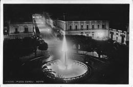 BRINDISI - PIAZZA CAIROLI - NOTTE - C/E - F/P - V: 1938 - Brindisi