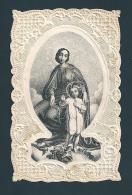 RICORDO AI DEVOTI DI MARIA SS. - Mm.65X100 - MERLETTATO - ED. MIGLIO-NOVARA - E - PR - Religione & Esoterismo