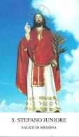 S. STEFANO JUNIORE - SALICE DI MESSINA - Mm. 62X105 - M - PR - Religion &  Esoterik