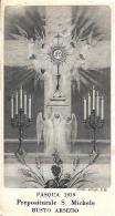 COMUNIONE PASQUALE - BUSTO ARSIZIO (VA) - 1939 - Religione & Esoterismo