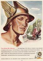 Vintage 1951 Advert National Benzole Co Your Friend Mr Mercury Petrol Fuel - Advertising