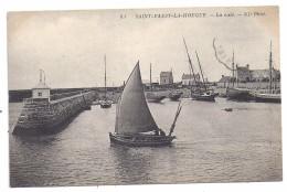 CPA Saint Vaast La Hougue 50 Manche La Cale Voilier Port  édit ND N°83  écrite - Saint Vaast La Hougue