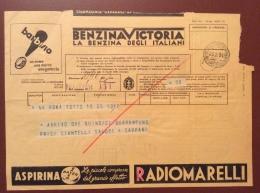 TELEGRAMMA PUBBLICITARIO VIAGGIATO - Storia Postale
