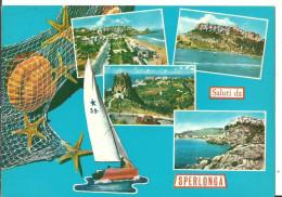 Sperlonga (Latina) Vedute E Scorci Panoramici, Reti Con Conchiglie E Stelle Marine, Panoramic Views, Vues - Latina