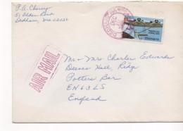 3066 Carta  Aérea  Estados Unidos, Usa, Dedham Ma 1985 - Covers & Documents